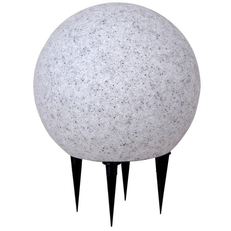 Elegante Leuchtkugel in Granit-Optik – Bild 1