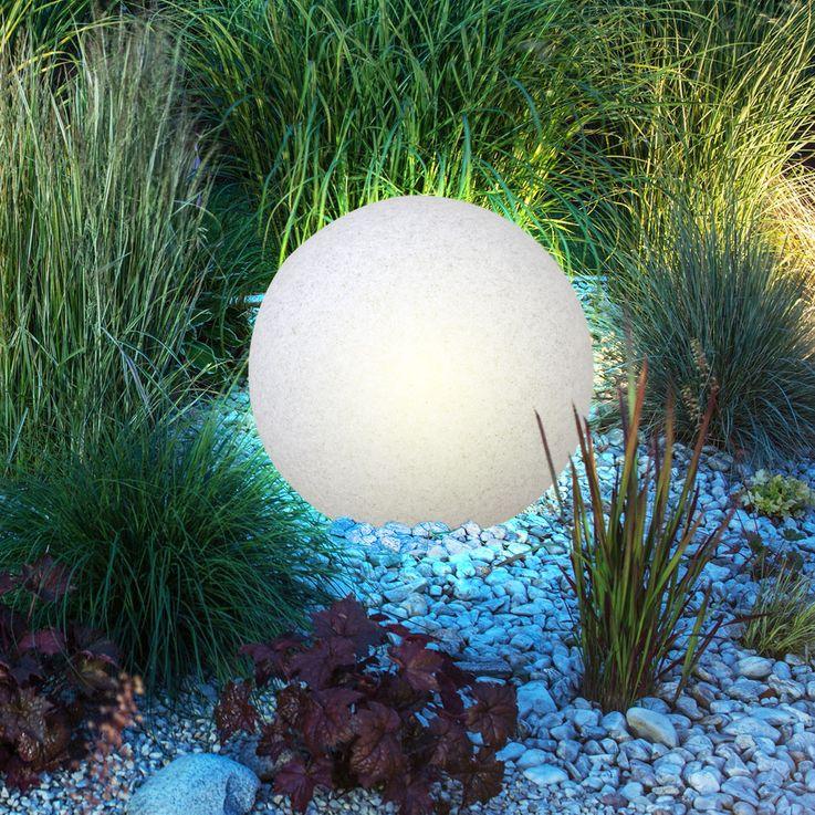 Elegante Leuchtkugel in Granit-Optik – Bild 8