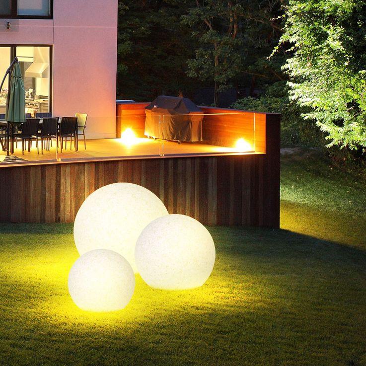 Elegante Leuchtkugel für den Außenbereich – Bild 7