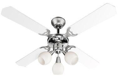 Elegant ceiling fan housing lamp cooling fan light Globo 03350 – Bild 10