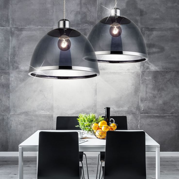 Retro pendant lamp ceiling lamp kitchen table lighting black Globo 15181 – Bild 8