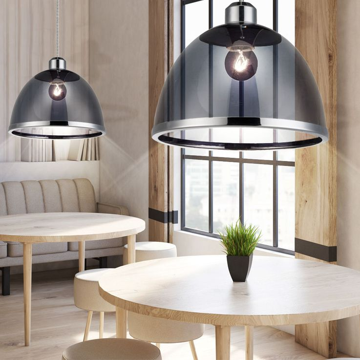 Retro pendant lamp ceiling lamp kitchen table lighting black Globo 15181 – Bild 9