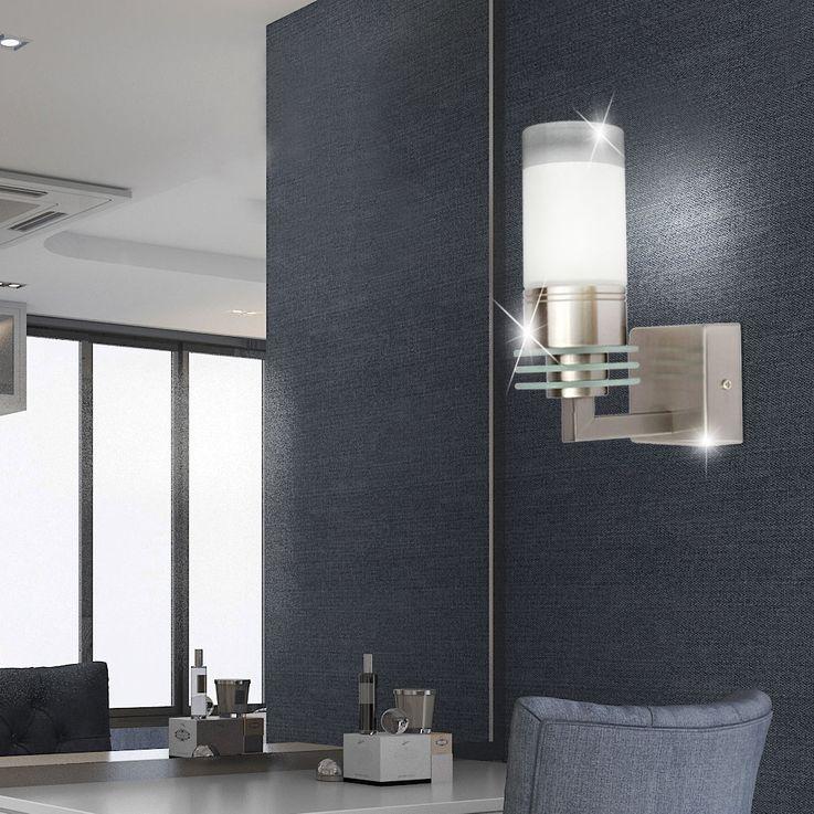 Applique murale salle de bain miroir éclairage verre lampe spot couloir spot IP44 hall  Globo 41520 – Bild 2
