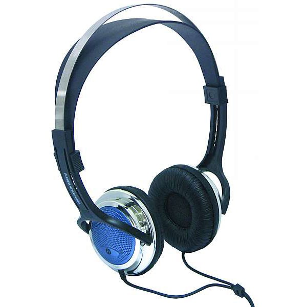 High-quality stereo headphones McVoice DH-800 cable 1.8 m ear pads 855043