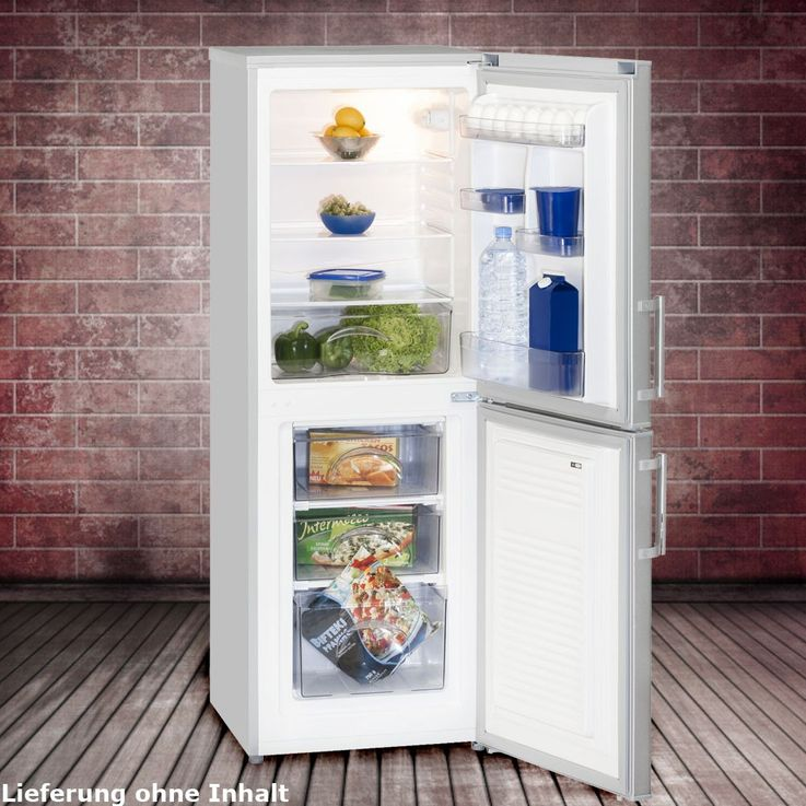 151 litre fridge freezer combination 4 star ice Cabinet Exquisit KGC 232/60-4A++ – Bild 2