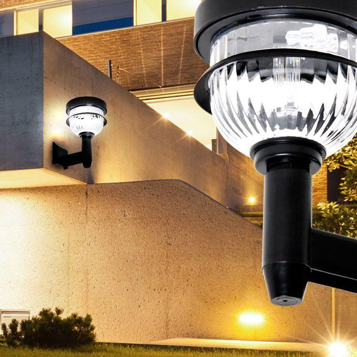LED outdoor plug-in lamp garden solar light terrace ground spike black Eglo 22818 – Bild 3