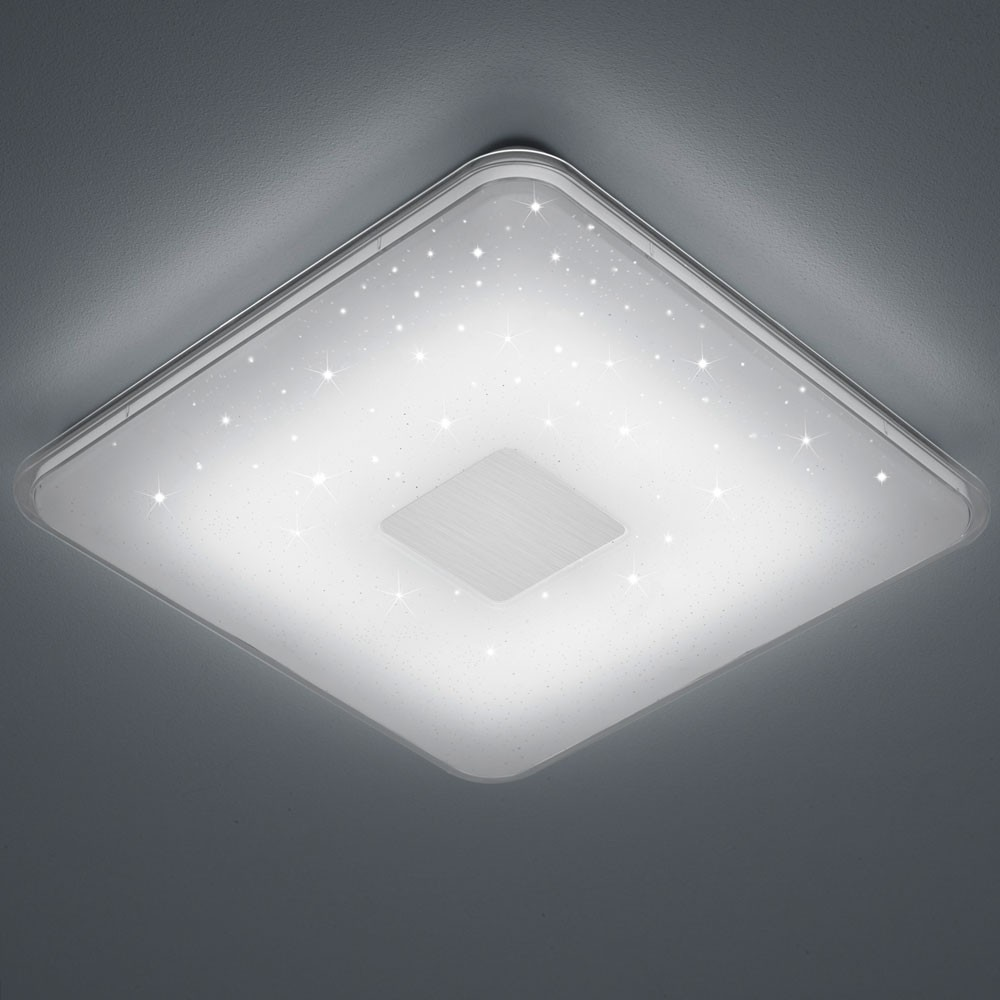 LED ceiling lamp with versatile features and Starlight effect Lamps ...
