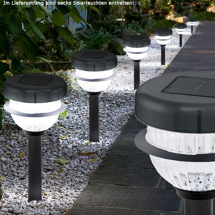 Die ideale LED Außenleuchte für Ihren Garten im 6er Set – Bild 2