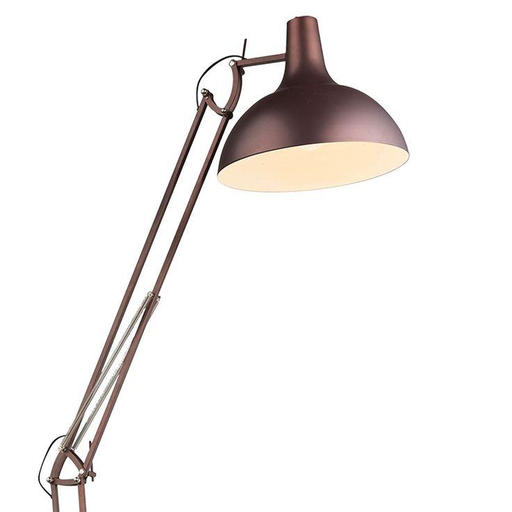 Large stand lamp lighting stand lamp metal bronzefärbig switch Globo 58312 – Bild 6