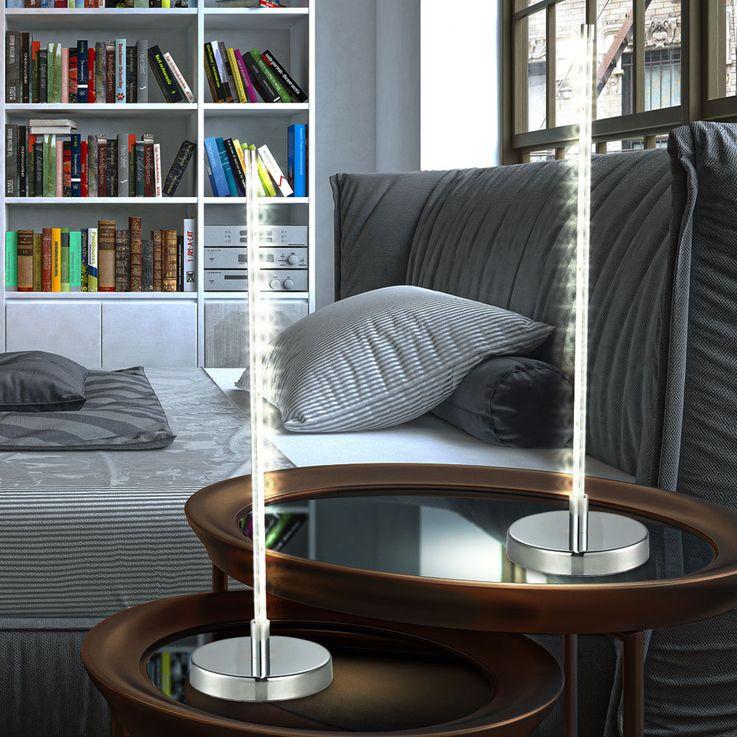 Lampe de table DEL 4 watts luminaire bureau lampadaire éclairage LED chambre – Bild 3