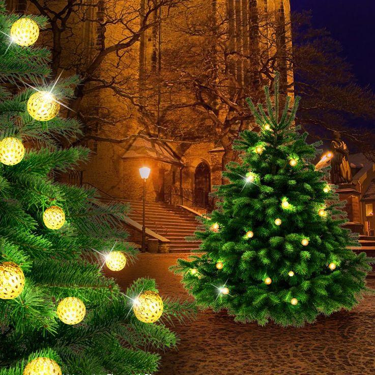 LED feux de ball chain or salon parti décoratif éclairage 16 lampe EGLO 75045 – Bild 2