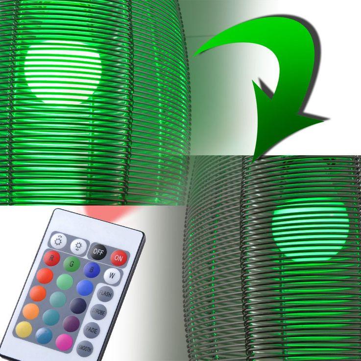 6,5 Watt RGB LED Leuchtmittel E27 Farbwechsel 450 Lumen 3000 Kelvin Esto 89595 – Bild 5