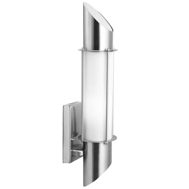 Design Wand Lampe Edelstahl IP44 Beleuchtung Außenbereich Harms 103142 – Bild 1