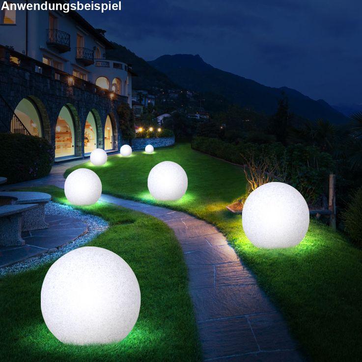 Elegante LED Leuchtkugel in Granit-Optik – Bild 6
