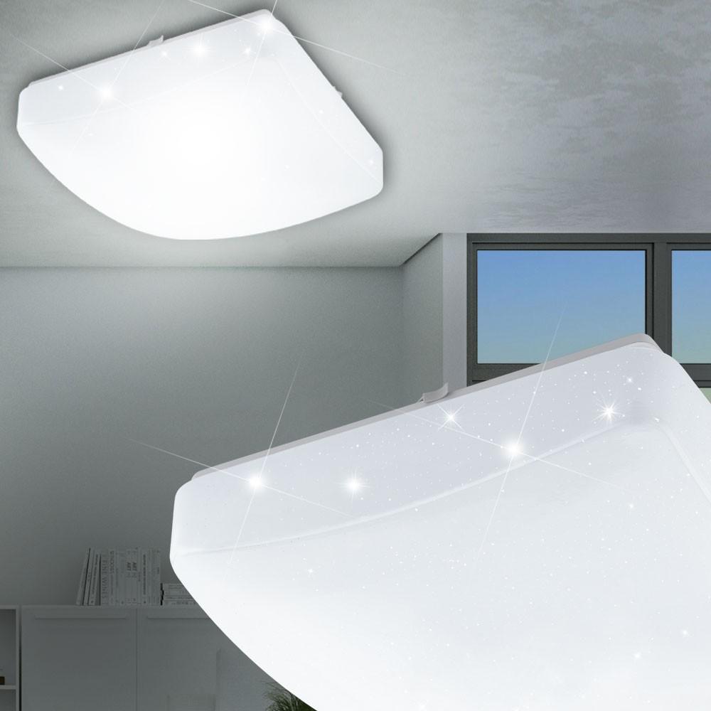 hochwertige led deckenleuchte mit kristalleffekt lampen. Black Bedroom Furniture Sets. Home Design Ideas