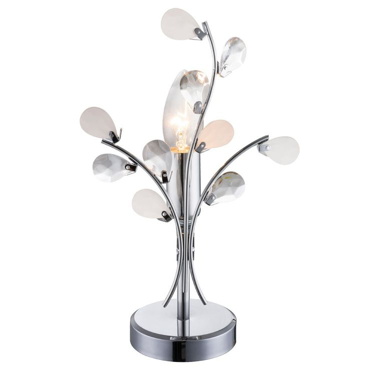 High-quality table light reading lamp floral lighting leaves light Globo 51508T – Bild 1