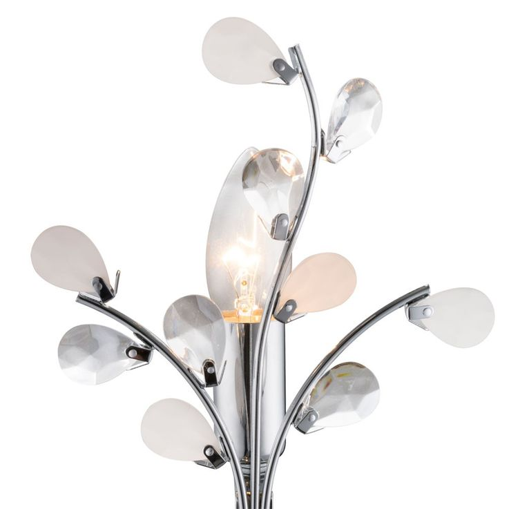 High-quality table light reading lamp floral lighting leaves light Globo 51508T – Bild 8