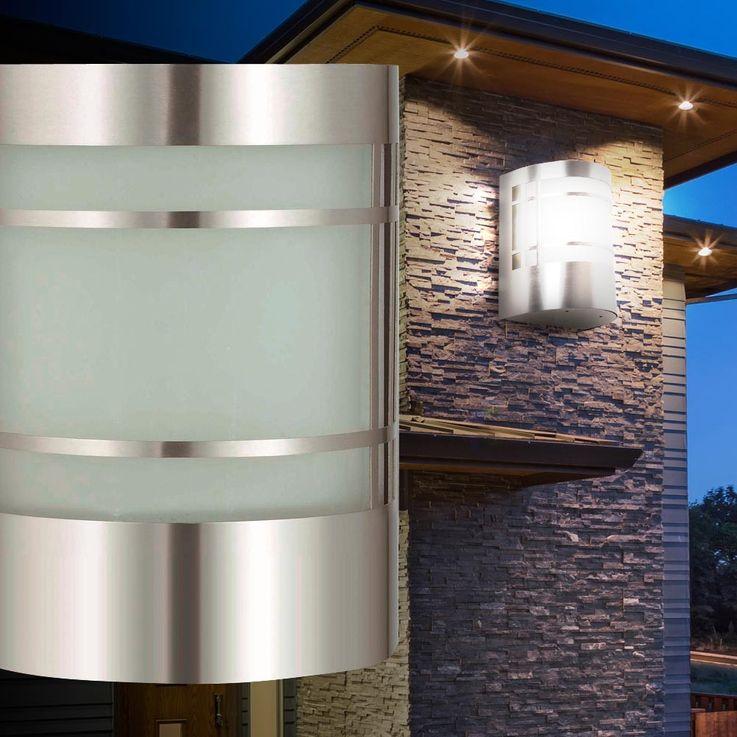 Luminaire mural applique extérieur jardin éclairage terrasse balcon lumière – Bild 3