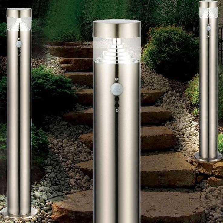 Elegante LED Stehleuchte für den Außenbereich mit Bewegungsmelder – Bild 4