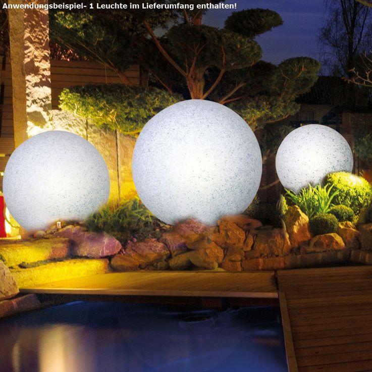 Elegante LED Leuchtkugel für den Außenbereich – Bild 3
