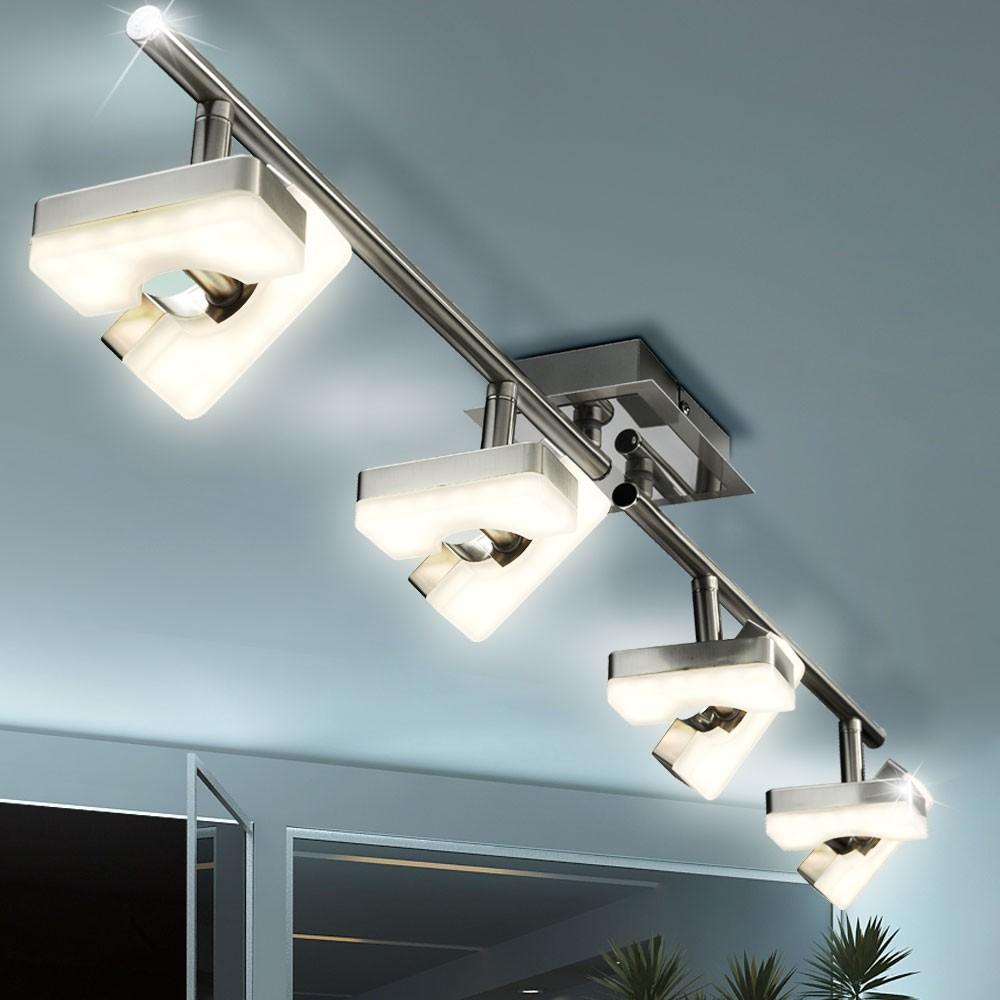 Luxus LED Deckenleuchte mit beweglichen Spots Lampen & Möbel ...