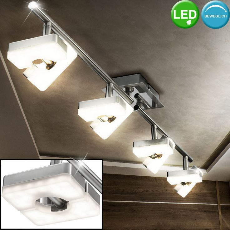 Ampoule LED design plafond lampe 24 Watts se déplaçant spot bar Esto 762020-4 – Bild 2