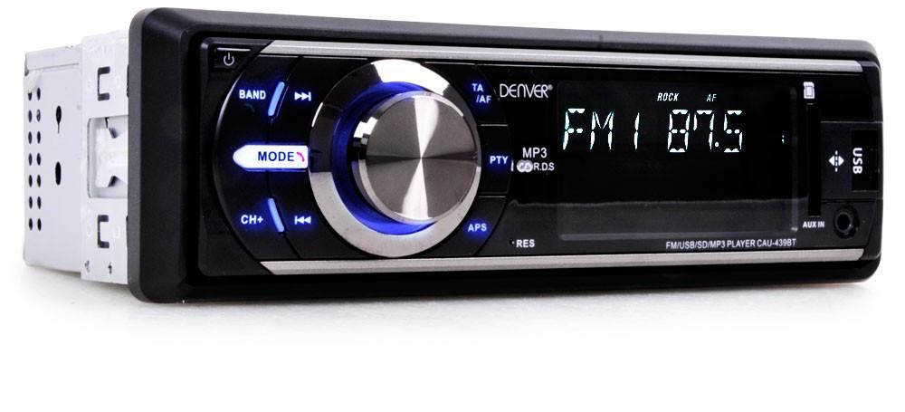 digitales stereo auto radio usb sd anschluss bluetooth aux. Black Bedroom Furniture Sets. Home Design Ideas