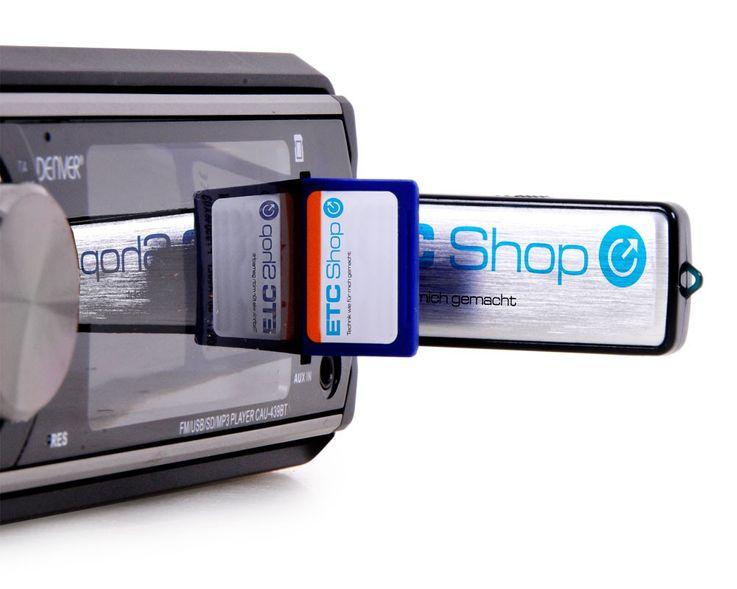 Digital stereo car radio USB SD port Loundness Controll Denver CAU 439 BT – Bild 4
