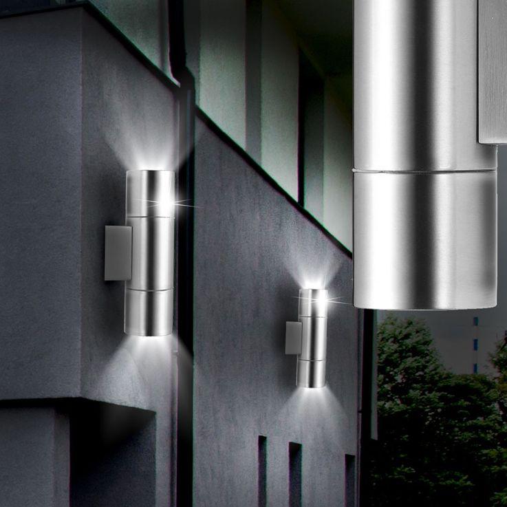 Rugged outdoor Wall lamp up & down facades spotlights plot lamp highlight 103138 – Bild 3