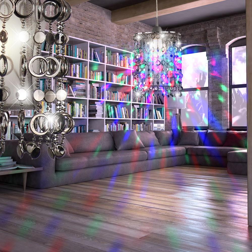 LED Disco Pendel Leuchte Party Keller Decken Hänge Lampe Farbwechsel ...