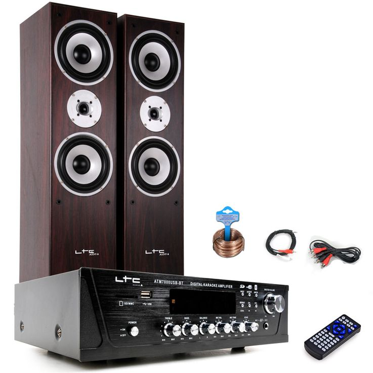 Hifi Heimkino Musikanlage Bluetooth USB MP3 Verstärker Standboxen HIFI-Premium 5 – Bild 1