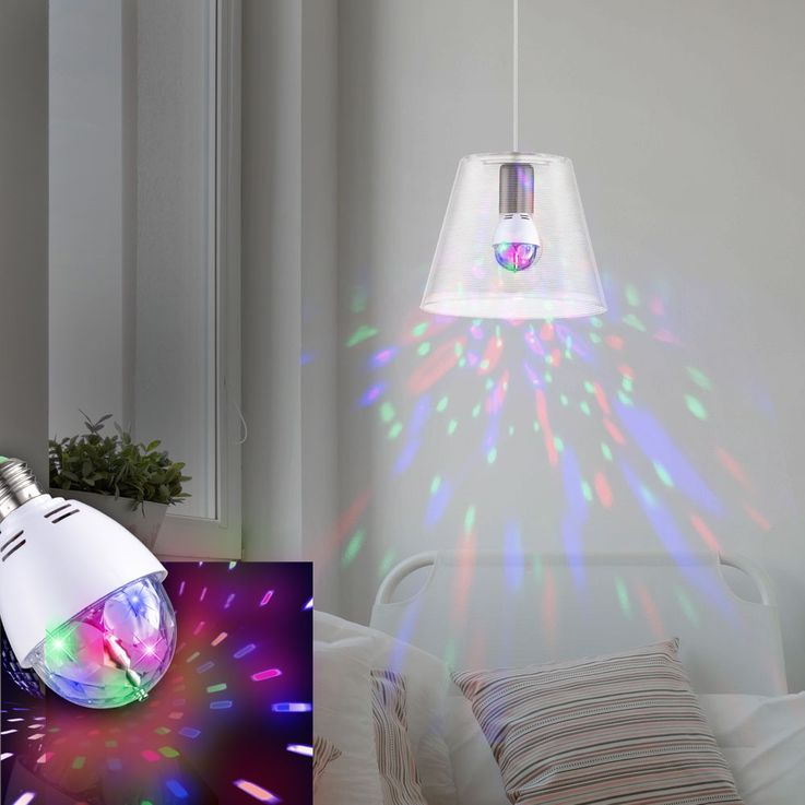 High-quality pendant lamp with colour changing light bulbs – Bild 2
