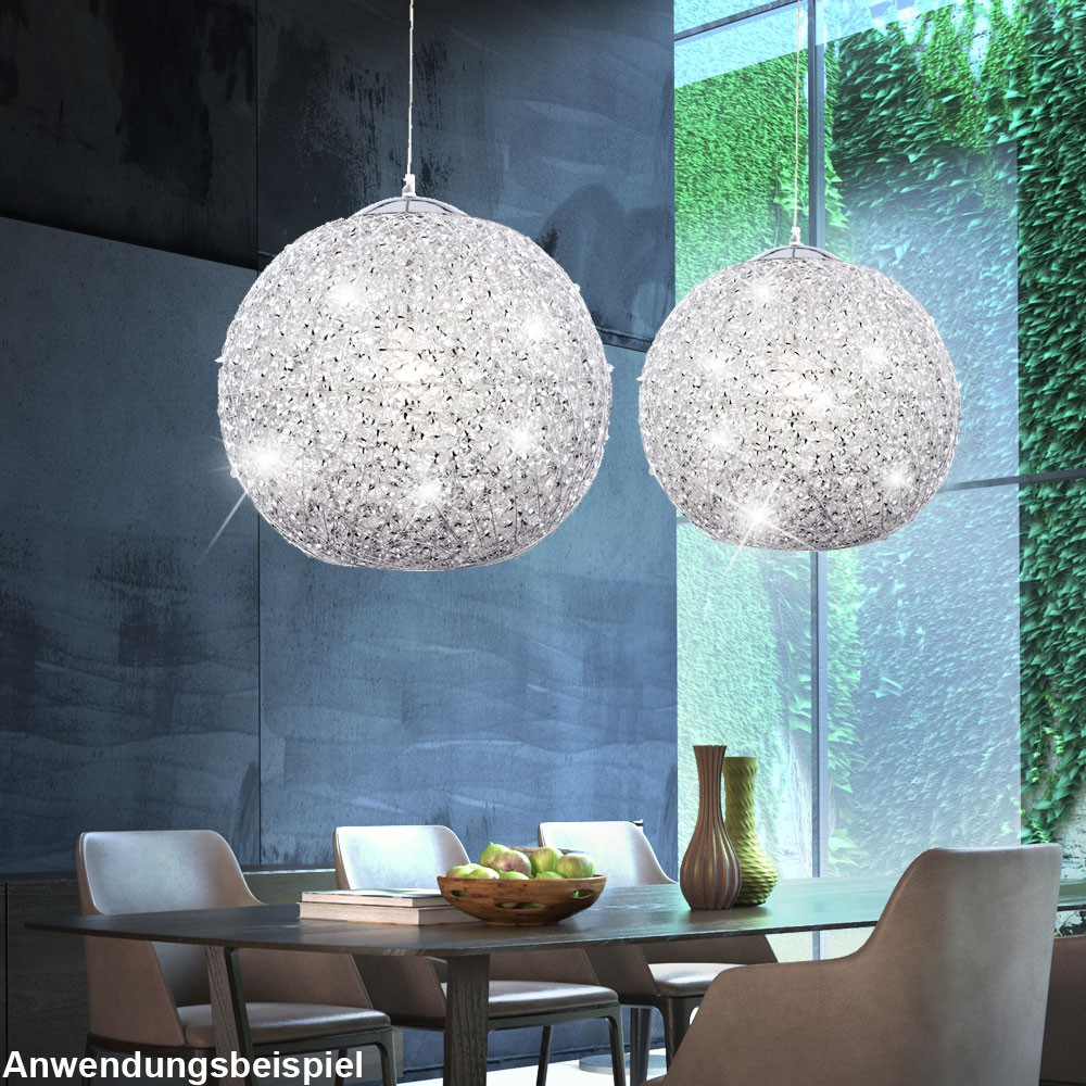 Glamorous Led Hanging Lamp With Colour Changer