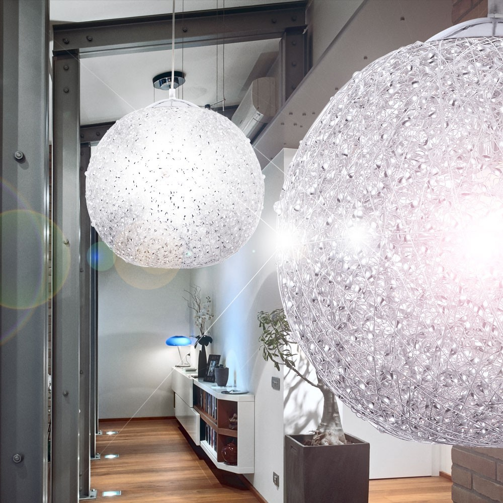 Led Disco Ball Hanging Lamp Color Changing Light Party