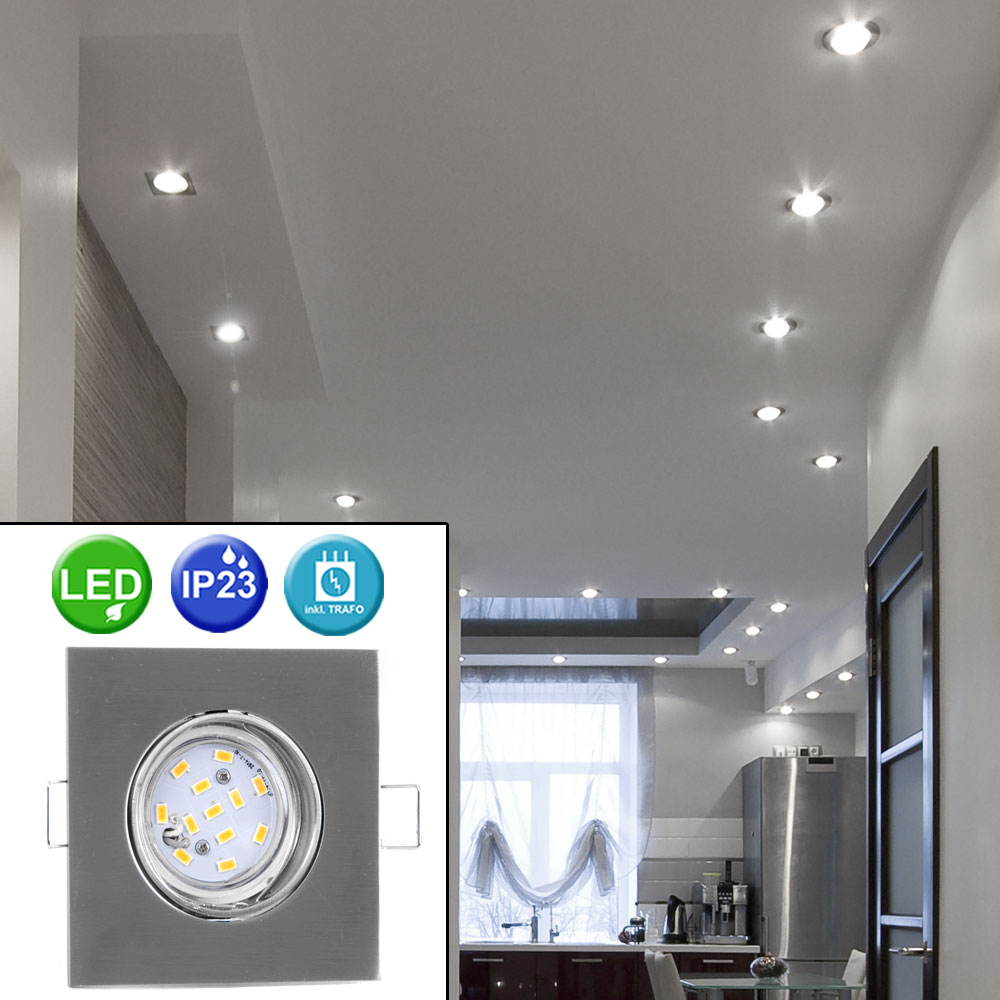 led recessed lighting for indoor and outdoor use