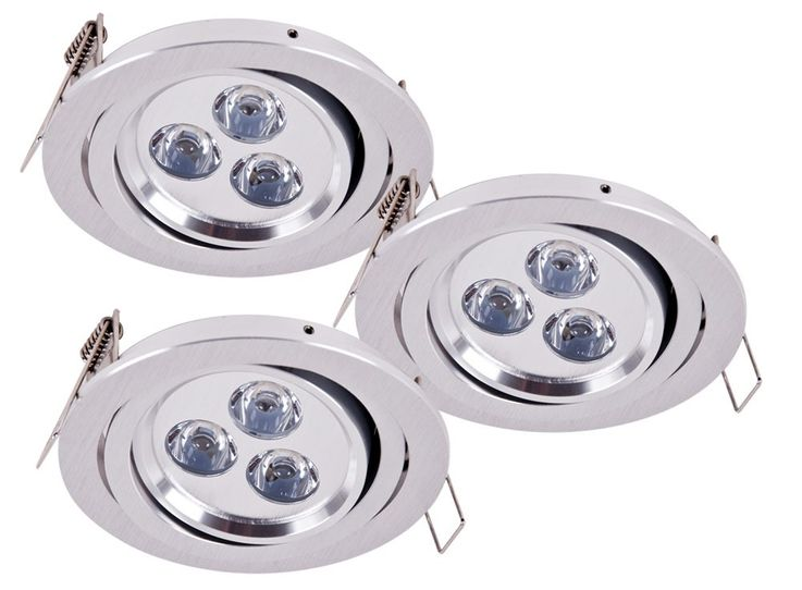 3 set LED recessed spot spotlights some lamps of lights Paulmann 925.30 – Bild 1