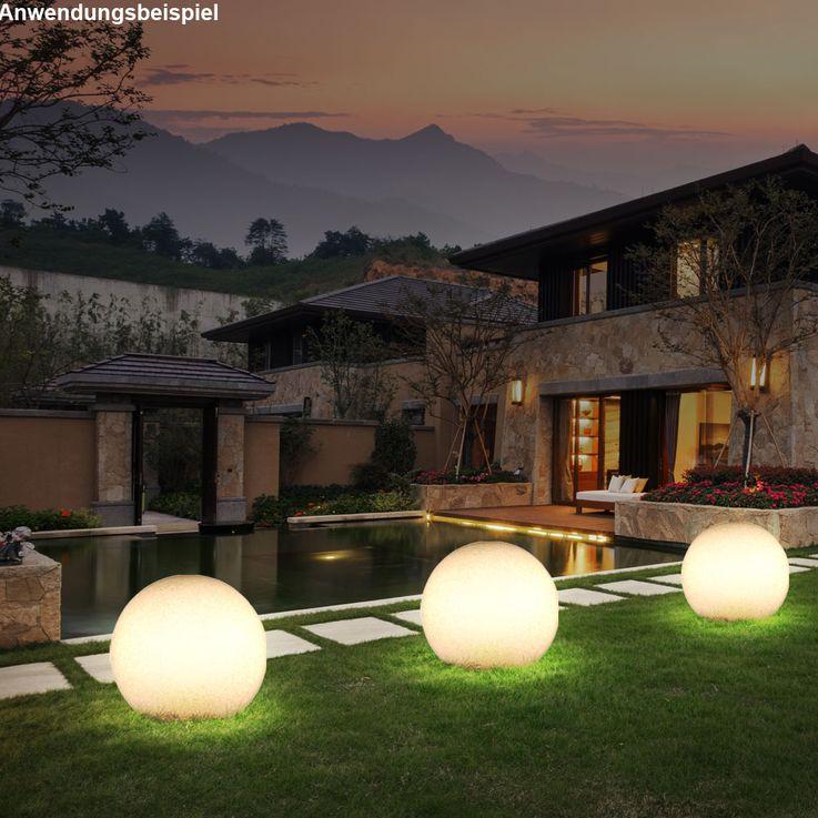 RGB LED Leuchtkugel für den Außenbereich – Bild 5