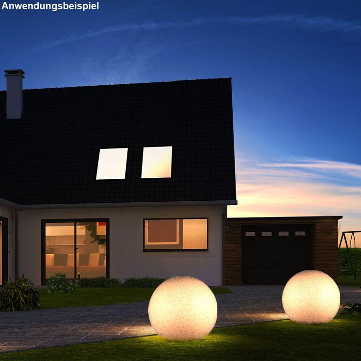 Une boule lumineuse à DEL RVB pour l'espace extérieur – Bild 6