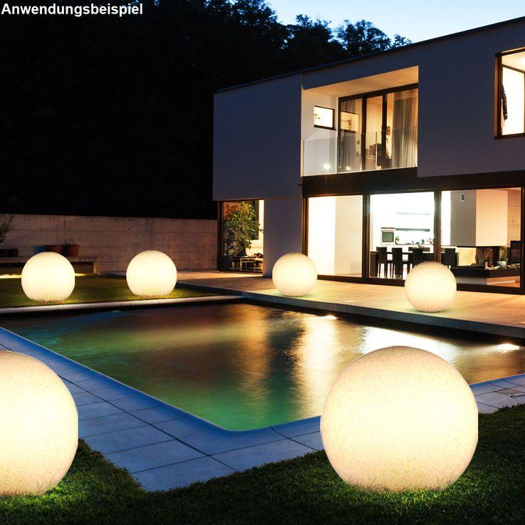 Une boule lumineuse à DEL RVB pour l'espace extérieur – Bild 4