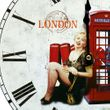 Retro Wanduhr im London-Design – Bild 4