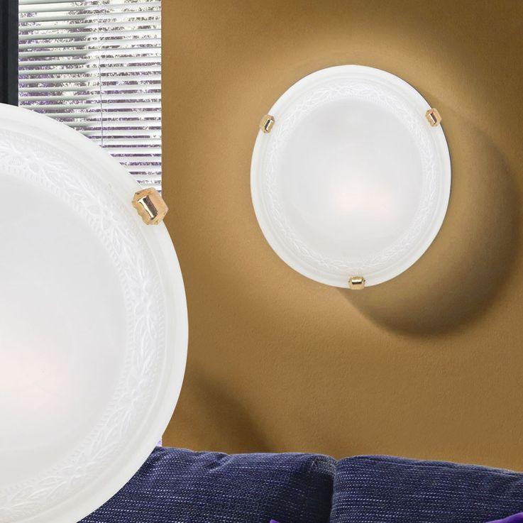 Wall lamp in round shape for the modern interior design – Bild 3