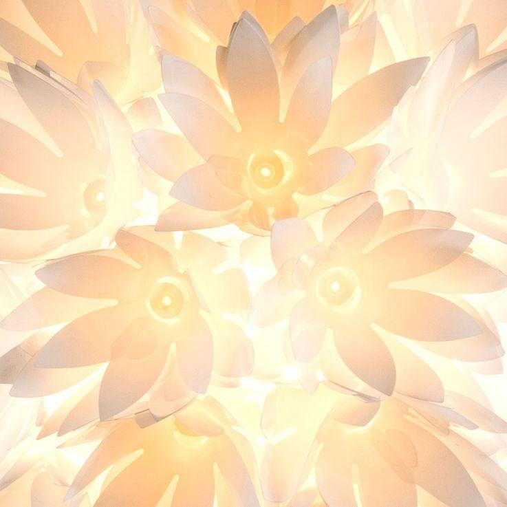 Conception stand stand lampe chambres d'hotes fleurs ball lampe interrupteur version 1 x E27 Globo 15115S – Bild 3