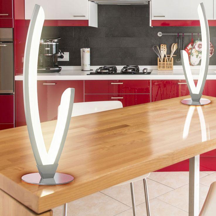 Lampe de table DEL 6 watts LED luminaire bureau lecture salle séjour travail – Bild 3