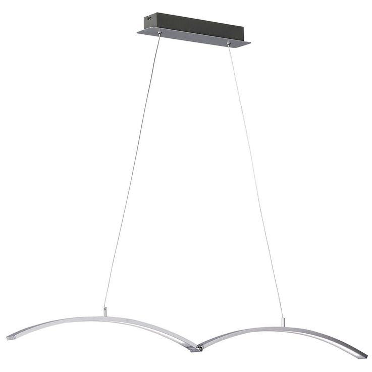 Elegante LED Pendeleuchte mit verstellbarem Lampenschirm – Bild 7