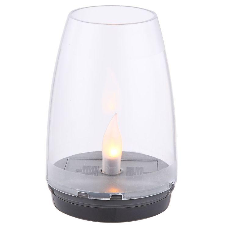 LED Solaire Lampe de Jardin Lampe de Table Éclairage Jardin Chemin Feu Effet Lampe Lampe  Globo 33864-24 – Bild 12