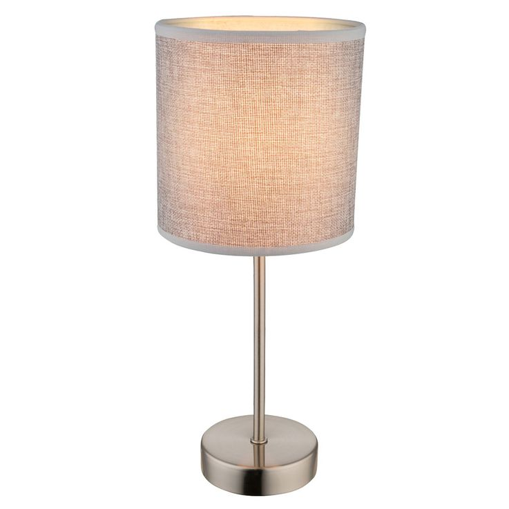 High quality table lamp with textile lampshade PACO – Bild 1