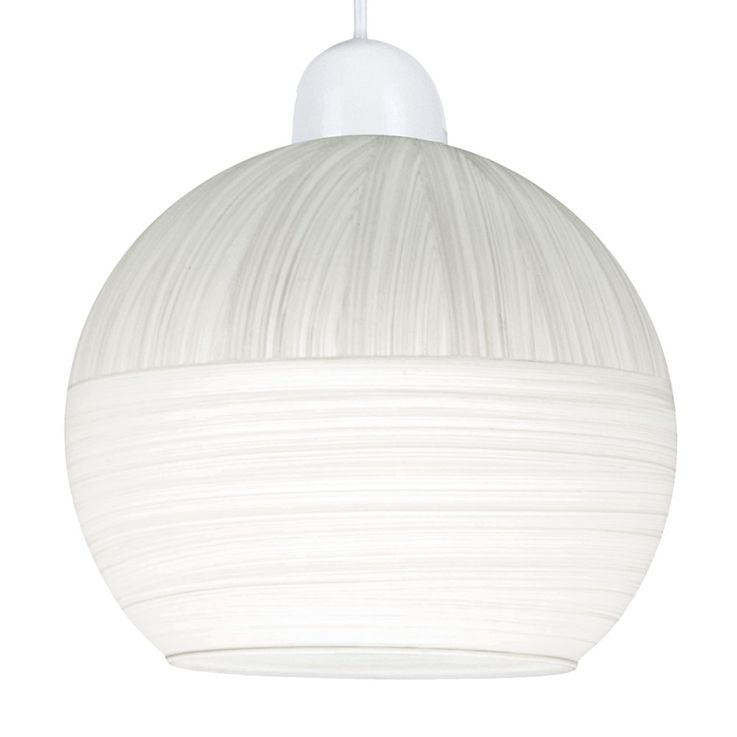 Hanging lamp, glass ball striped, D 20 cm, HENDRIJKE – Bild 3