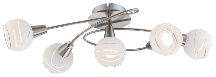 Hochwertige Decken Leuchte Licht 5-flammig Beleuchtung Lampe IP20 Globo 54341-5O – Bild 1