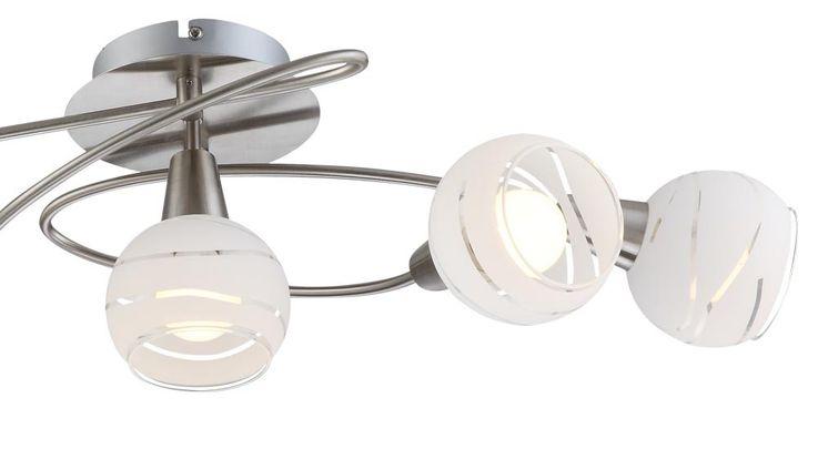 Hochwertige Decken Leuchte Licht 5-flammig Beleuchtung Lampe IP20 Globo 54341-5O – Bild 6