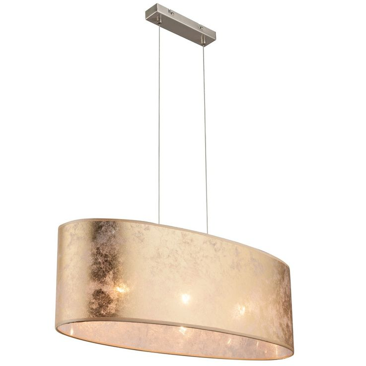 Elegant pendant ceiling light fabric hanging bed and light gold shiny 3-flg Globo 15187 H 2 – Bild 7